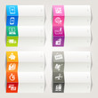 Rainbow - Shopping icons / Navigation template