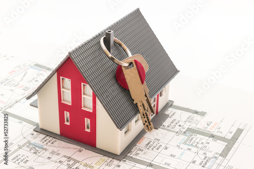Hauskauf Konzept
