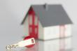 Schlüsselübergabe Haus Konzept