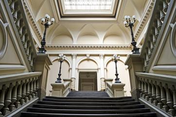 Principal staircase
