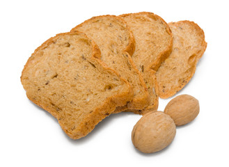 Rye bread with nuts
