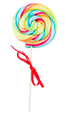 spiral lolly pop candy