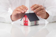 Schutz und Sicherheit fürs Eigenheim - Konzept