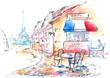 Leinwandbild Motiv France