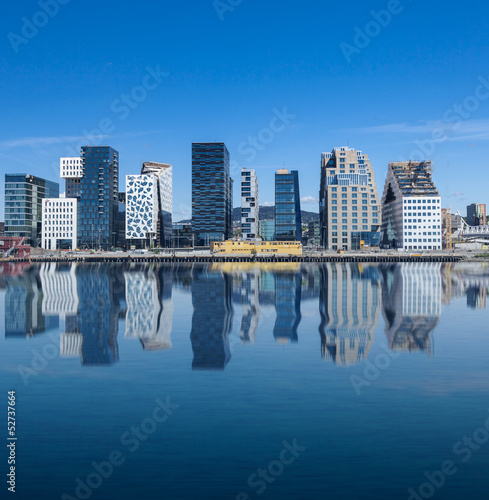 Oslo, Downtown, Bjørvika Norway