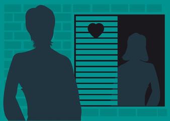 inconnu,secret,rencontre,rendez-vous,échange,masqué,