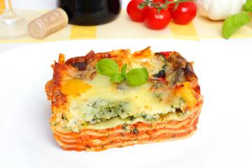 veggie lasagna - Gemüselasagne