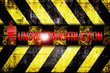 Warnung Schild Under Construction