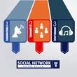 infographics social network