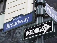 壁紙(ウォールミューラル) - Broadway