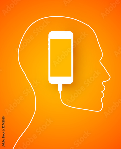 phone profile orange