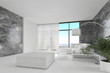 Awesome Pure White Loft Living Room | Architecture Interior