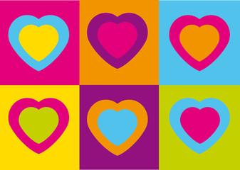 pop art,warhol,fluo,flash,flashy,carte,invitation,art,graphic,