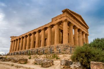 Concordia Temple in Agrigento