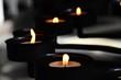Kerzen Licht Stimmung bei Mediatation