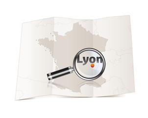 Lyon en France