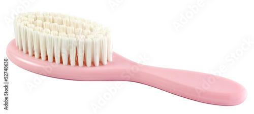 baby comb isolated on white background