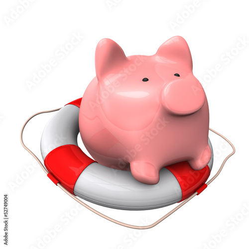 Piggy Bank Lifebelt