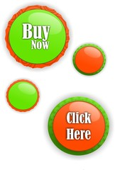 Vector color buttons for web