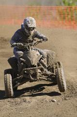 Muddy quad