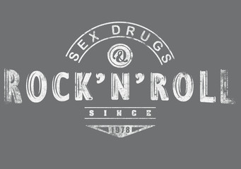 Sex drugs rock'n roll