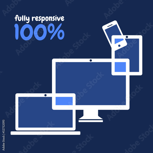 100% fully responsive web design