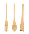 Kitchen wooden utensil isolated