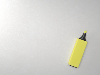 yellow marker