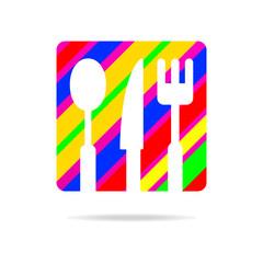 kitchen set logo web icon