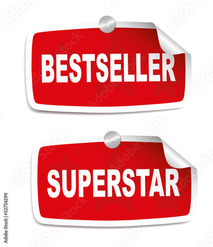 Stickers - Superstar and bestseller
