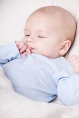 müdes baby