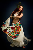 Native savage woman