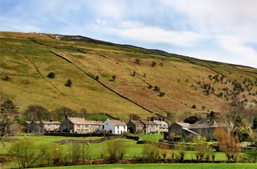 Buckden Village in Wharfdale, Yorkshire Dales