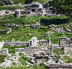 Ancient Greek town Chersonese, Sevastopol, Crimea, Ukraine