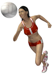 VOLLEYBALL - 3D