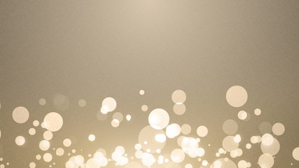 Elegant Glitter Lights Wedding concept Animation