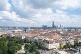 Panoramic view of the Austrian capital city Vienna