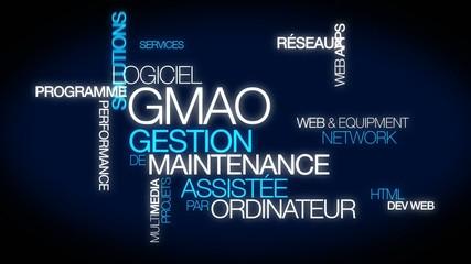 GMAO Gestion de maintenance assistée par ordinateur animation