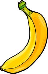 banana fruit cartoon illustration