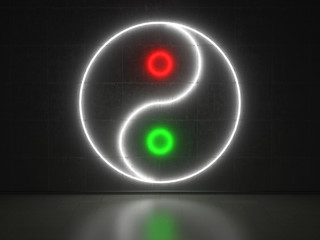 Yin Yang - Series Neon Signs