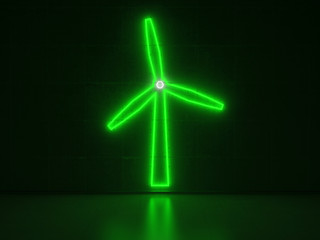 Windmill - Series Neon Signs