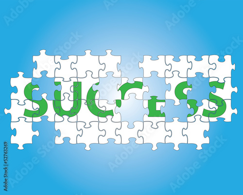 Success jigsaw puzzle