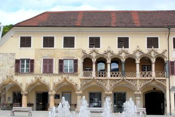 Kornmesserhaus am Hauptplatz von Bruck an der Mur