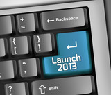 "Keyboard Illustration ""Launch 2013"""