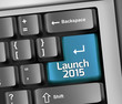 "Keyboard Illustration ""Launch 2015"""