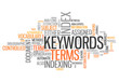 "Word Cloud ""Keywords"""