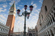 St Mark's Square, Venice. Doges Palace, Campanile, Liberia Sanso