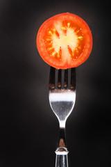 fresh round cut tomatoe