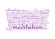 Meditation Tagcloud Banner 1