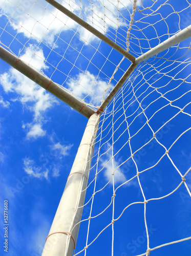 Soccer goal with net